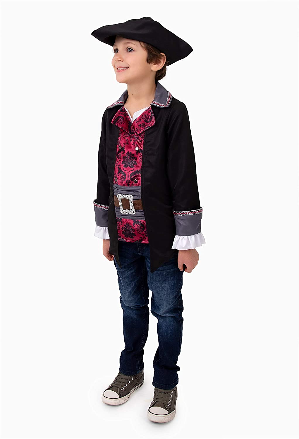 Little Adventures Pirate Captain Costume Set