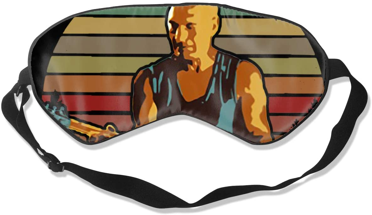 WushXiao Luanelson Darmok-Jalad Fashion Personalized Sleep Eye Mask Soft Comfortable with Adjustable Head Strap Light Blocking Eye Cover