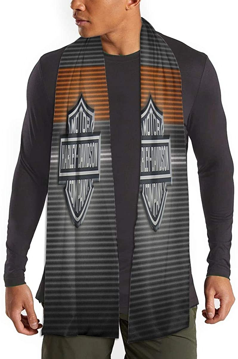 DGAGD Harley Davidson Cotton Scarf Long Fashion Scarf Makes You Feel Comfortable And Warm Elegant