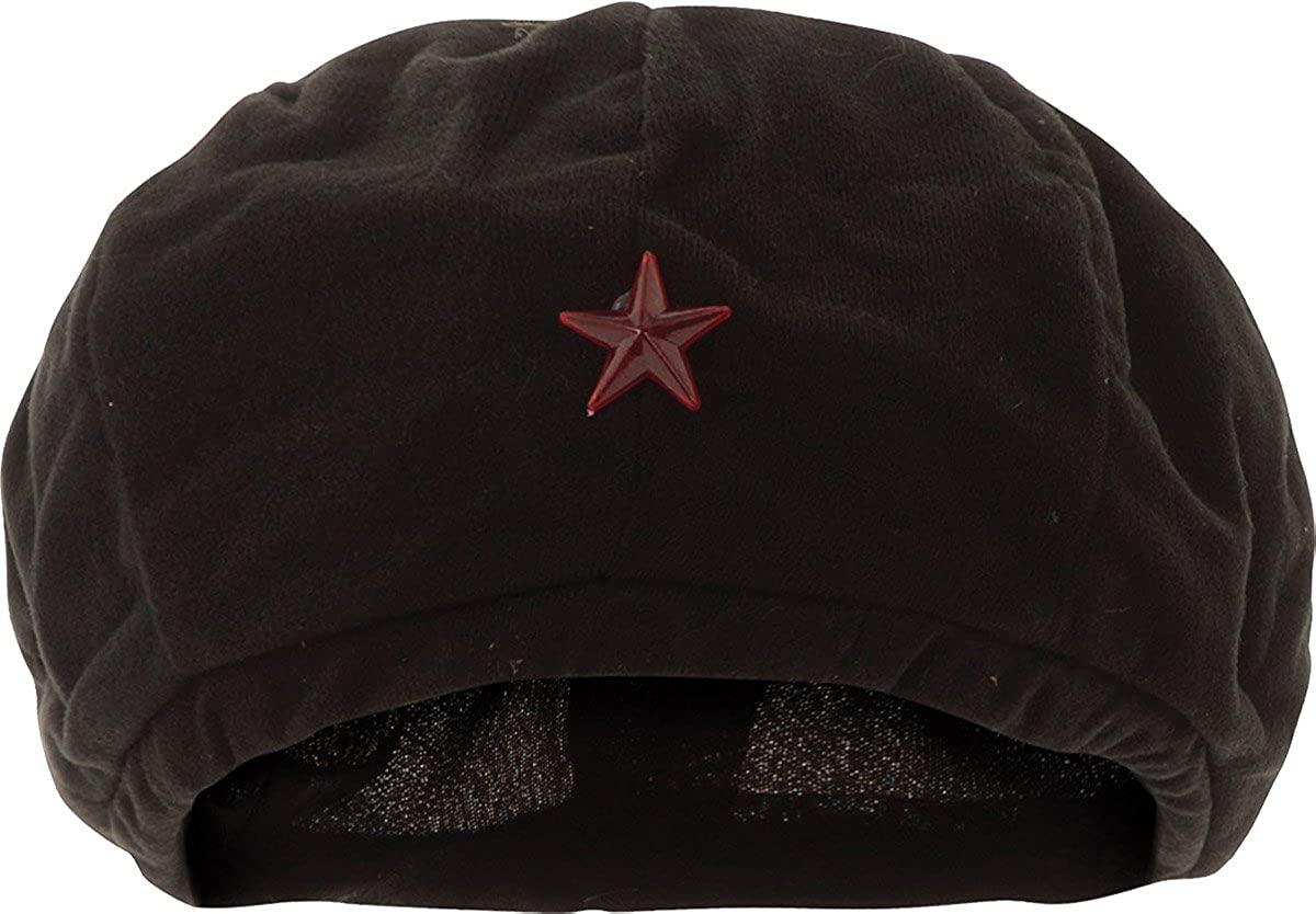 Unisex Adult Fancy Dress Communist Fleece Beret Che Guevara Revolutionist Hat