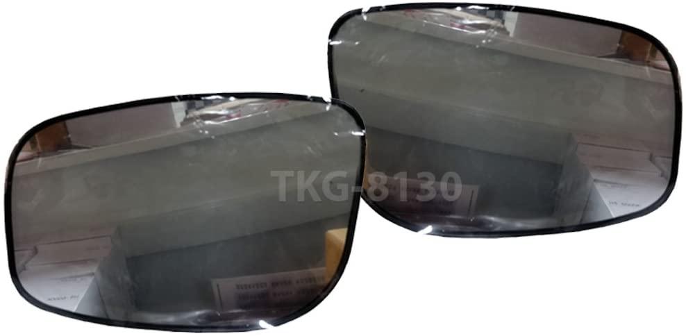 K1AutoParts 1 Pair Side Mirror Glass Lens Len For Toyota Vitz/Yaris (XP90) Hatchback 2005-2013