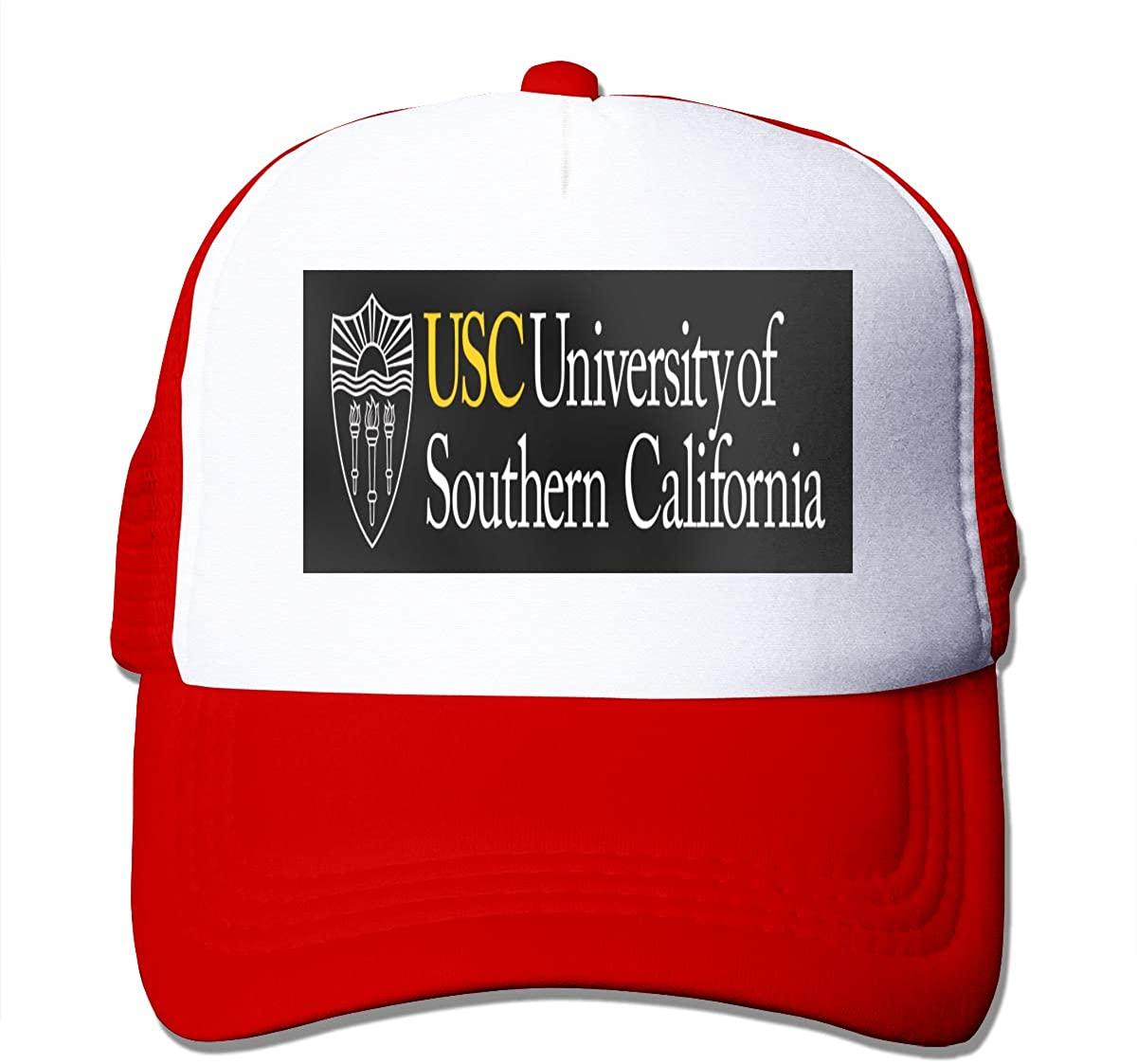 N/C USC Breathable Unisex Trucker Hats Cap