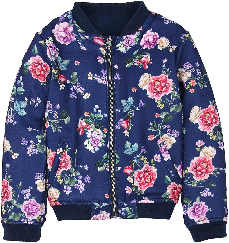 Boboli Girl's Reversible Bomber Jacket, Sizes 4-16