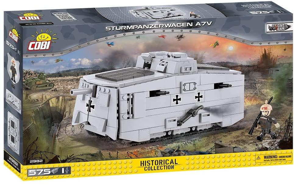 COBI Historical Collection SturmpanzerwagenA7V Tank