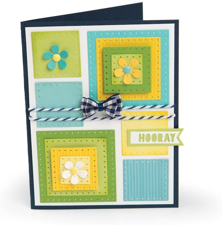 Sizzix Dies, 561841 Dotted Squares