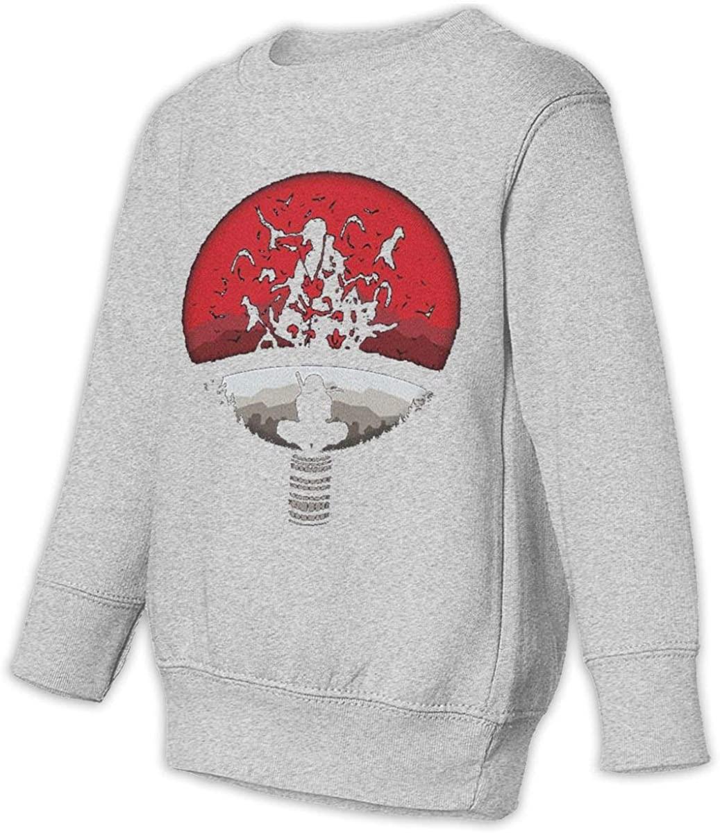 AP.Room Uchiha Clan Symbol Juvenile and Toddler Sweatshirt Handsome Fashion