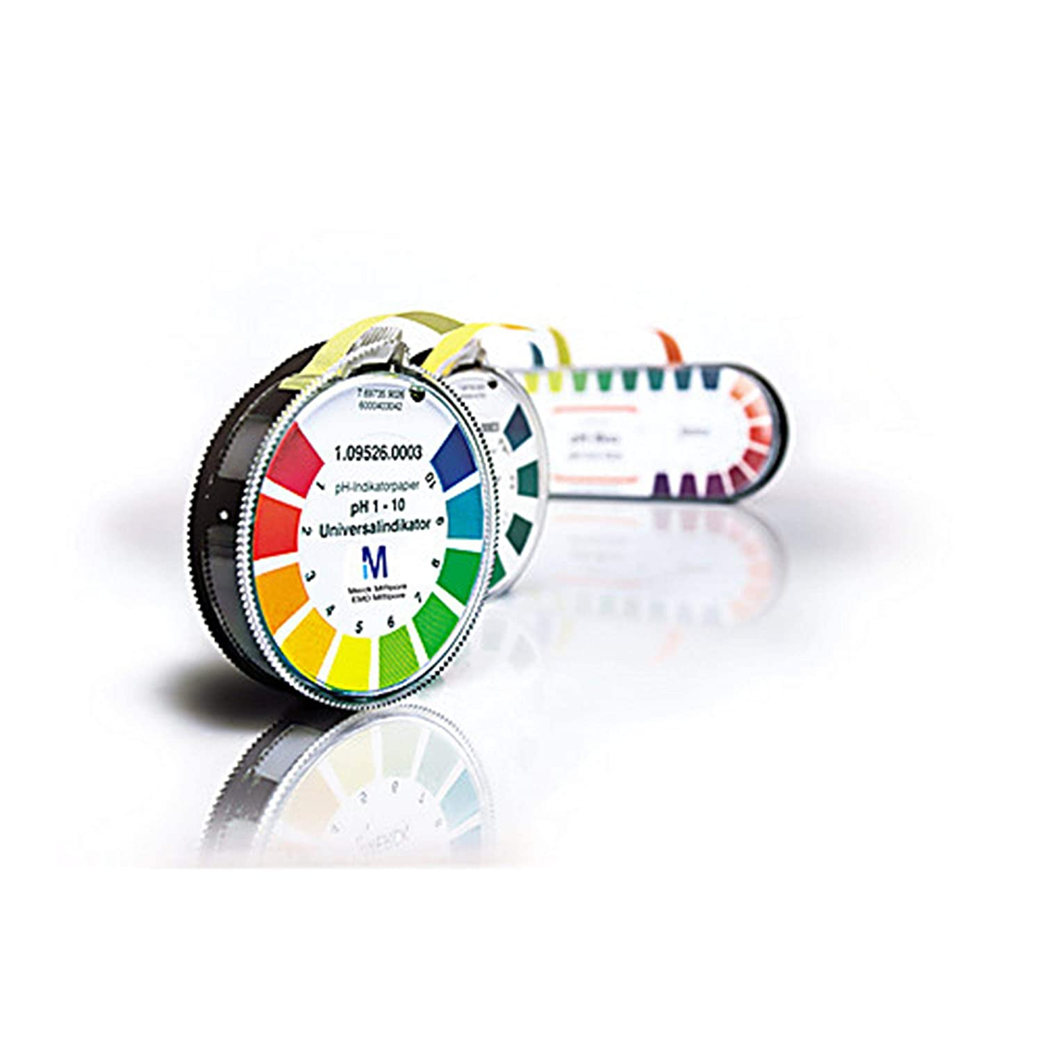 Millipore Sigma 1.09555.0003 pH-Indicator Paper with Color Scale, pH 3.8-5.4, Special Indicator, 4.8m Roll (Pack of 3)