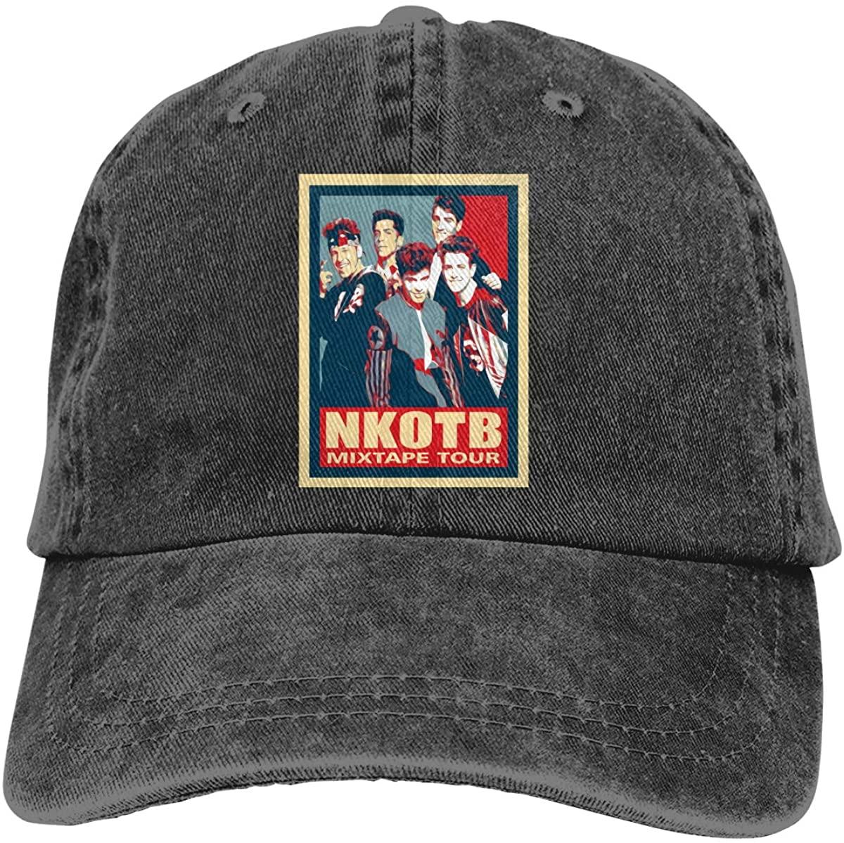 New Kids On The Block The Mixtape Tour Staircase 2019 NKOTB Adjustable Unisex Hat Baseball Caps Black