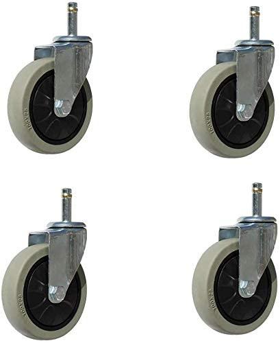 Roll Meal Wheel Cart Wheel Insert Mute Meal Wheel Bearings (4 Packs)