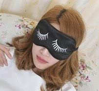 applestore Sleep Eye Mask Adjustable Band Double Sided Silk 921cm Hot&cold with a Ice Bag