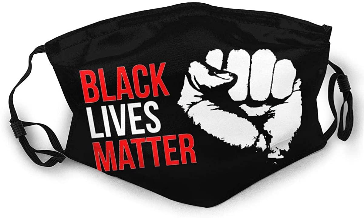 Black Lives Matter Adult Outdoor Sports Windproof Dustproof Face Towel Headscarf Scarf Sunscreen