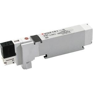 SMC VQ2200R-5C valve - vq2 sol valve 4 way family vq2 no size rating - valve, dbl sol, plug-inlqa