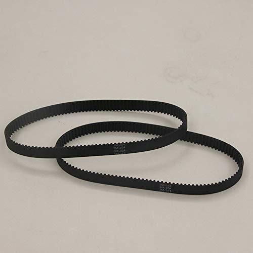 Ochoos 354-3M-6mm/10mm/15mm HTD 3M 354 6mm 10mm 15mm Teeth 118 Closed Loop Rubber Drive Belt Width 6mm 10mm 15mm Length 354mm - (Width: 10mm, Number of Pcs: 5pcs)