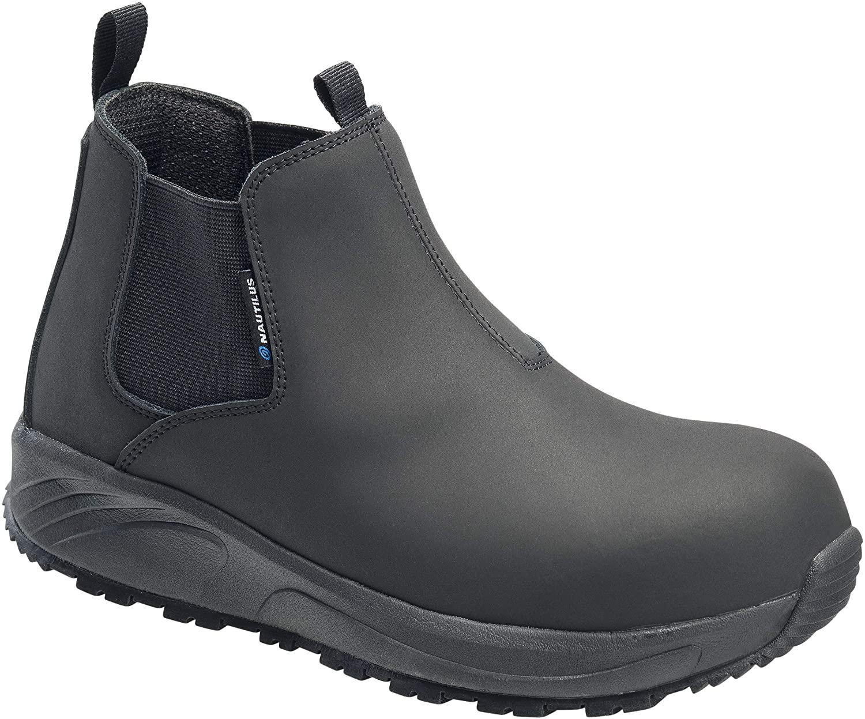 FSI FOOTWEAR SPECIALTIES INTERNATIONAL Men's Guard Industrial Shoe, Black