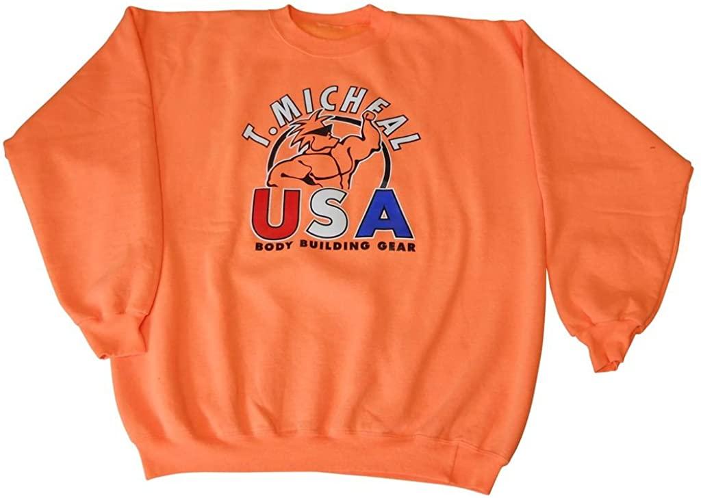 T. Micheal Neon Sweatshirt- # 101NO