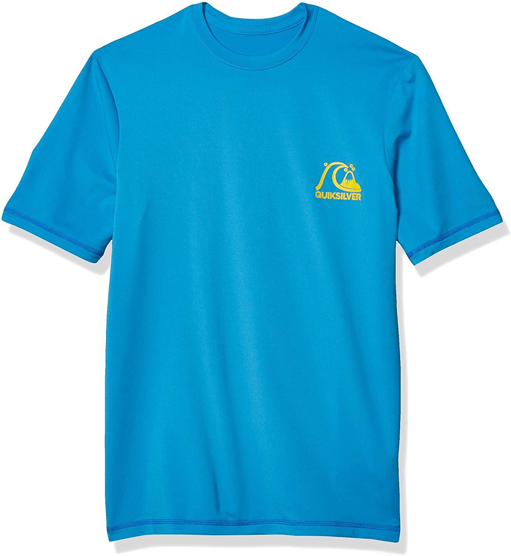 Quiksilver Boys' Big Heritage Short Sleeve Youth Rashguard Surf Shirt