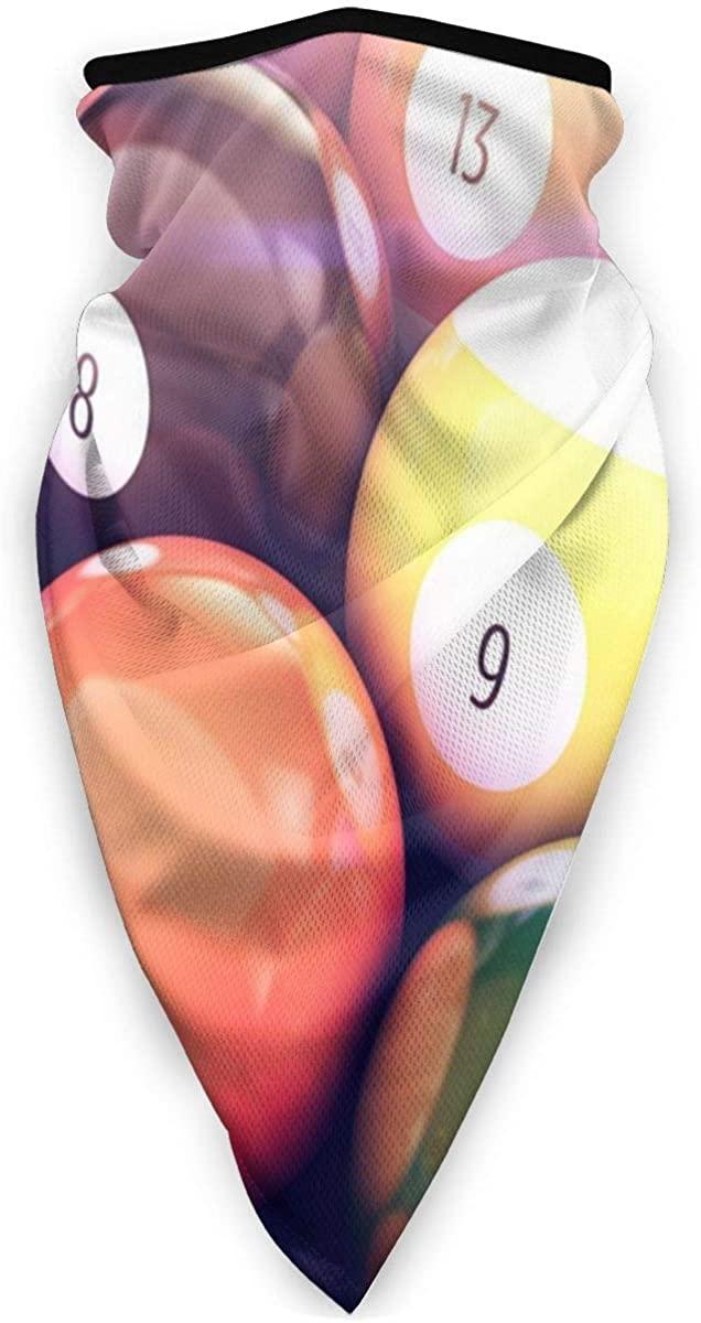 Sport Scarf Face Sun Mask3d Rendering Billiards Dustproof Windproof Variety Head Scarf Balaclava For Women Men