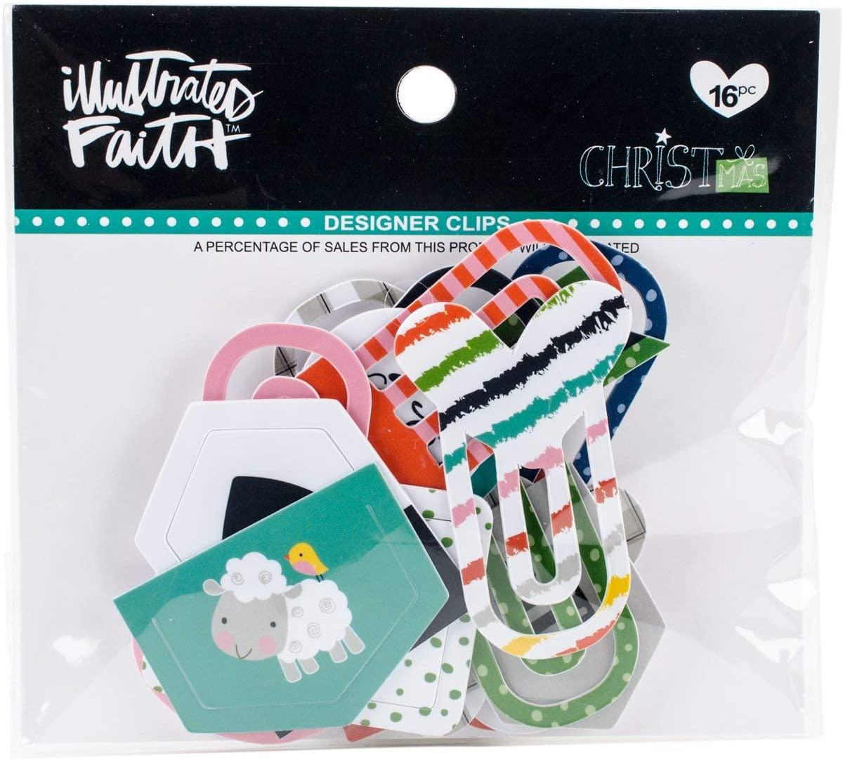 Bella Blvd Illustrated Faith CHRISTmas Designer Clips
