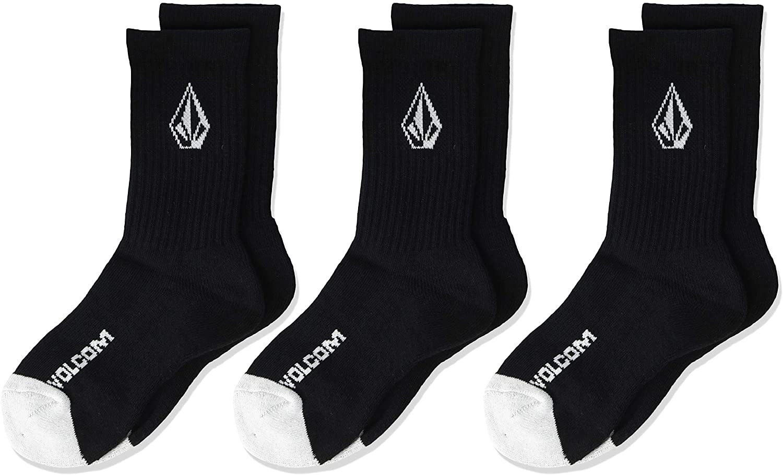 Volcom Big Boy's Full Stone 3 Pack Sock