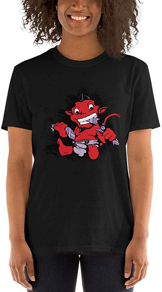 Vaansa Styles - Little Devil Mom Unisex T-Shirt