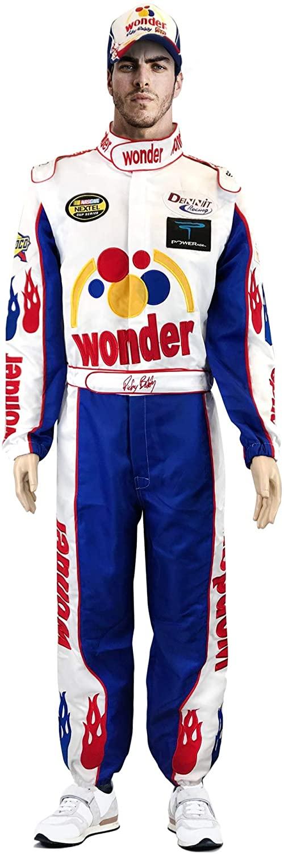 Ricky Bobby Jumpsuit + Cap Full Costume Talladega Nights