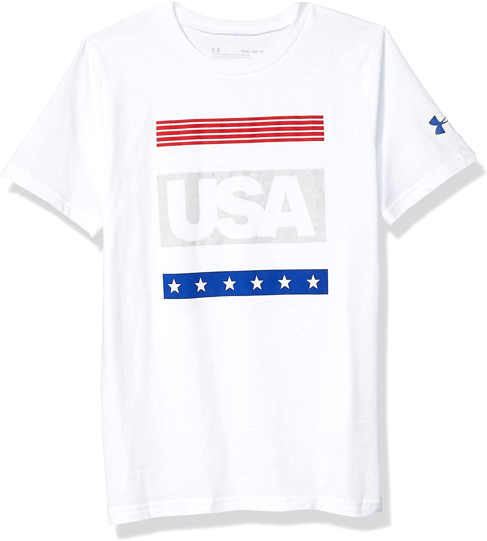 Under Armour Boys Americana Short Sleeve Tee