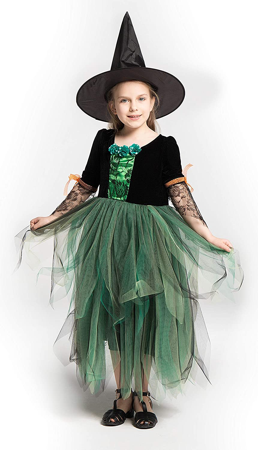 Mutong Girls Witch Darkness Bride Costume (The Dresses for Party,Pageant,Cosplay,Summer,Performance)