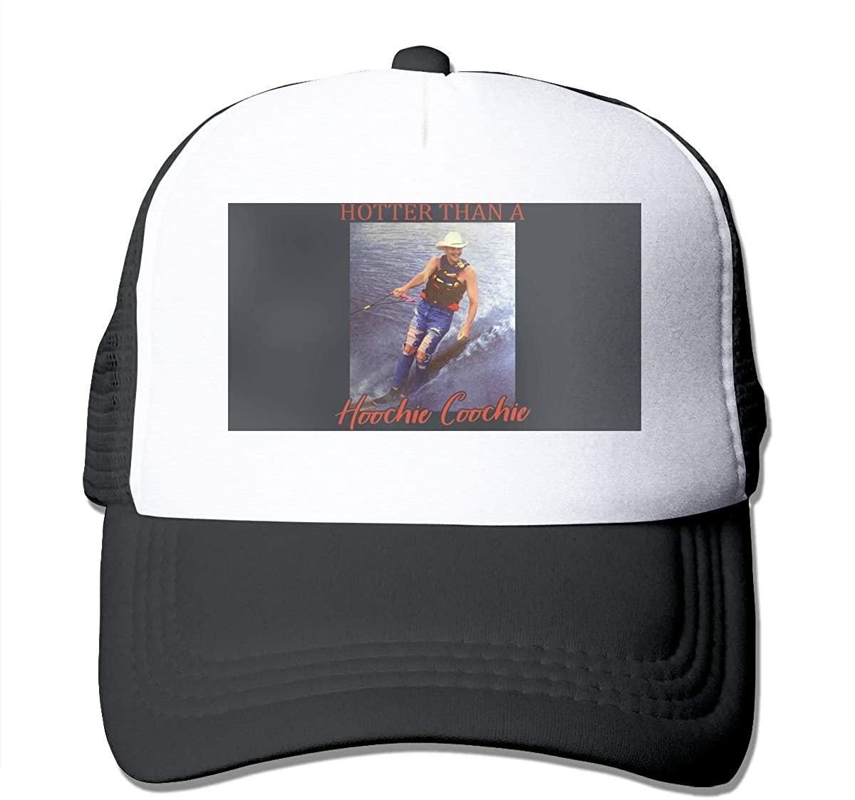 Alan-Jackson Hotter Than A Hoochie Coochie Vintage Unisex Trucker Hats Adjustable Hat Cap