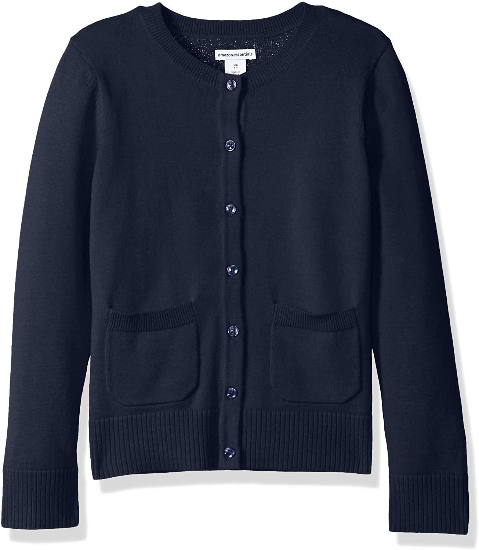 DHgate Essentials Girls' Uniform Cardigan Sweater