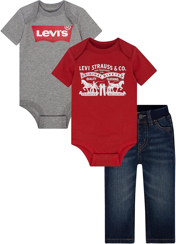 Levi's Baby Boys' 3-Piece Box Set