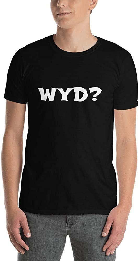 HJC Retail WYD Short-Sleeve Unisex T-Shirt Black