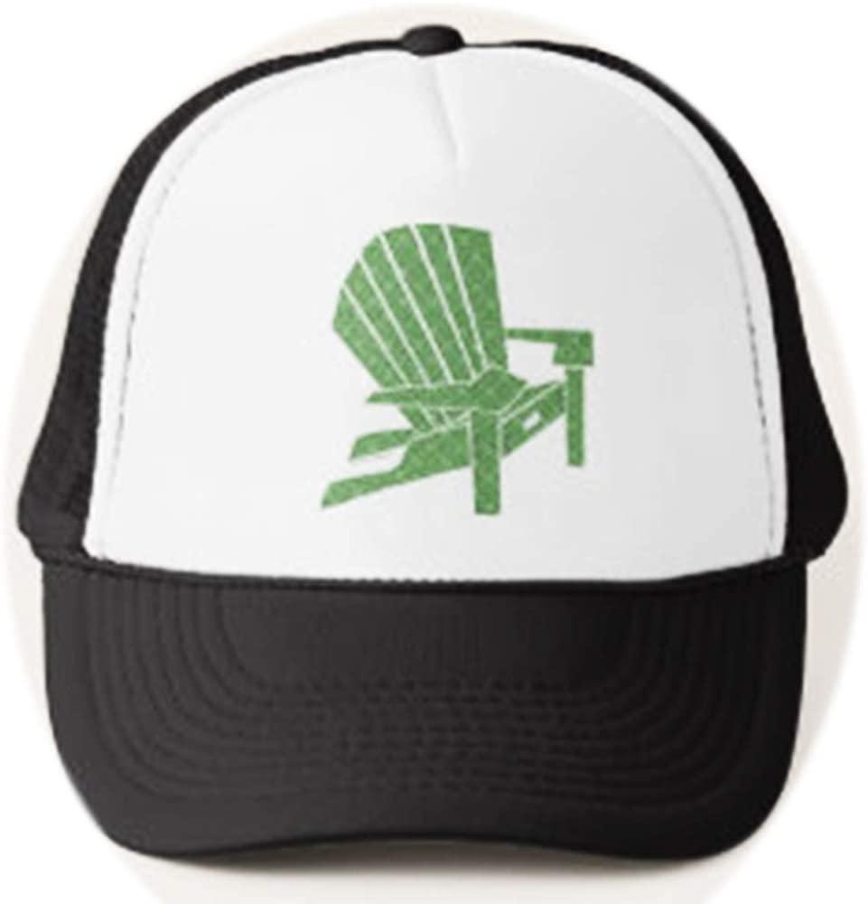 U-A-N Funny Adirondack Chair Trucker hat Vacation Adjustable Mesh Trucker Hat Baseball Cap