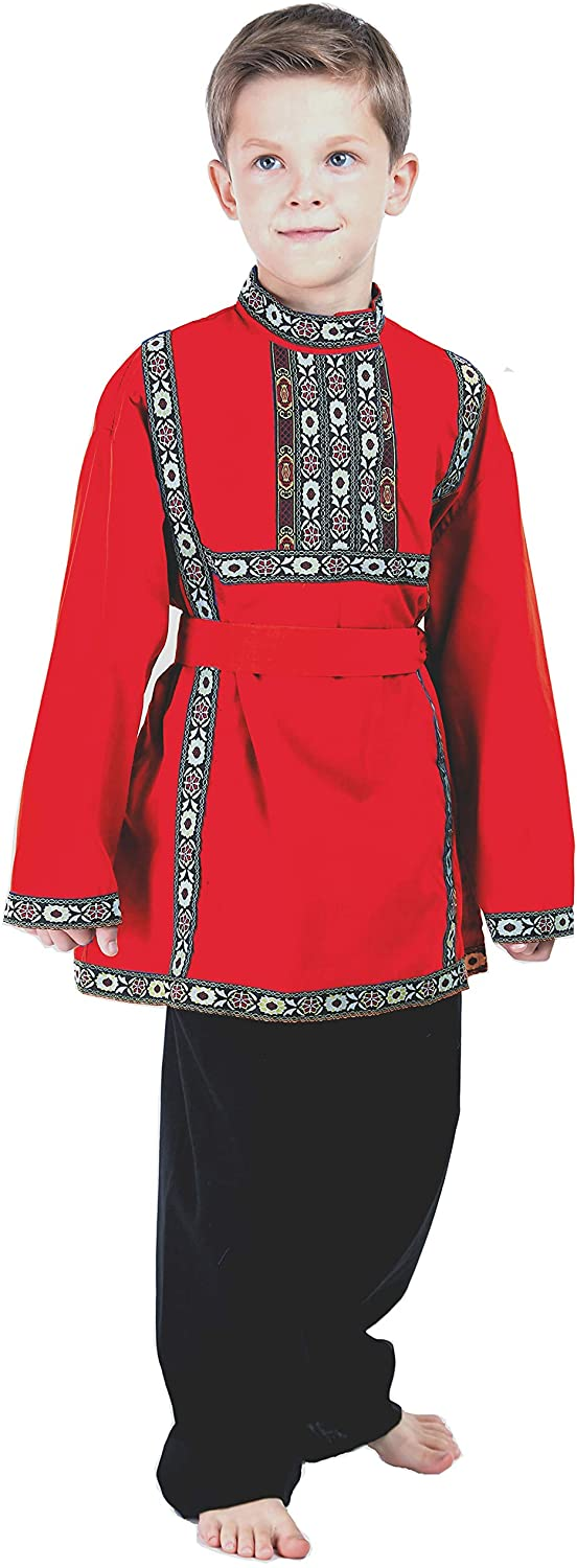 Russian Heritage Boys Costume Dress Traditional Outfit wear