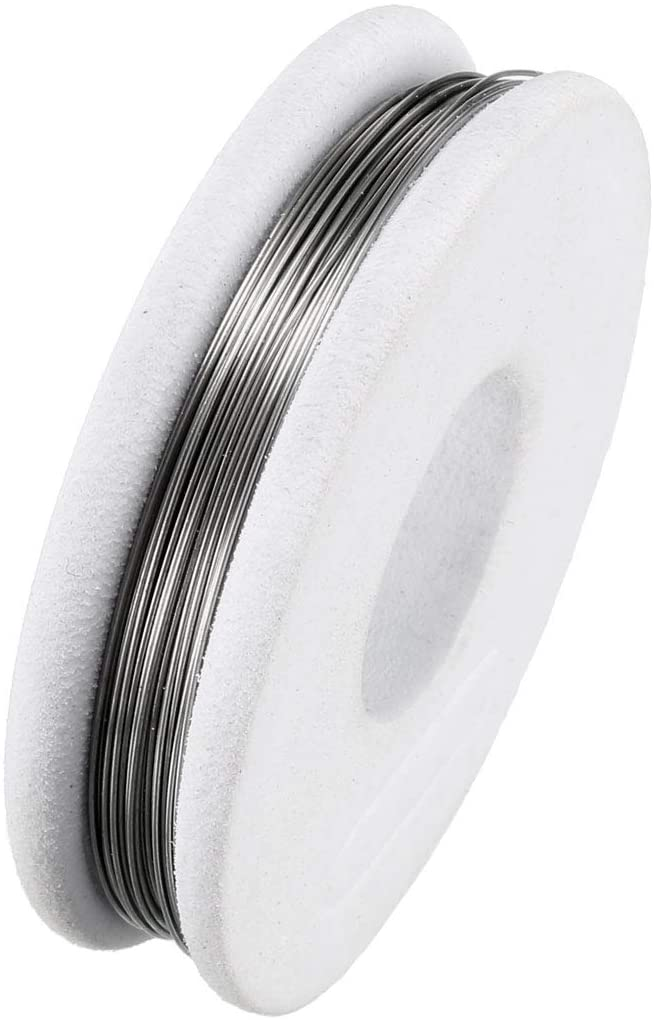uxcell 28 Gauge Heat Resistance Wire Wrapping 25ft Heating Resistor Wires Electronic Coil