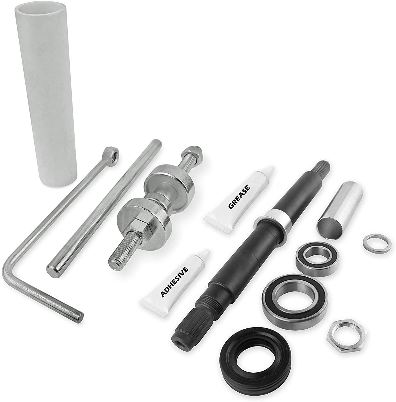 NEW W10447783 Tool Kit and W10435302 Bearing Assembly, COMPLETE PACKAGE, 2119011, W10435274, W10435285