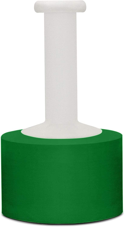 Self-Adhering Green Color Narrow Banding Stretch Wrap 3 Inch x 1000 Feet x 80 Gauge 18 Rolls