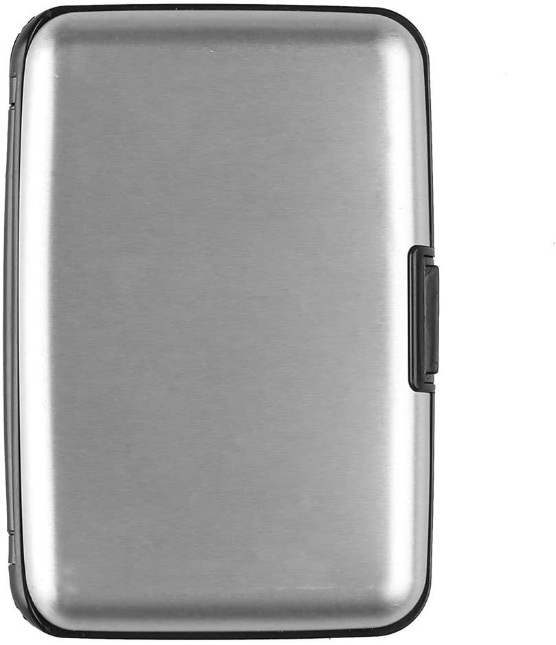 MoreFeel Credit Card Holder Card Case RFID Aluminum Wallets Minimalist Metal ID Slots for Men Women