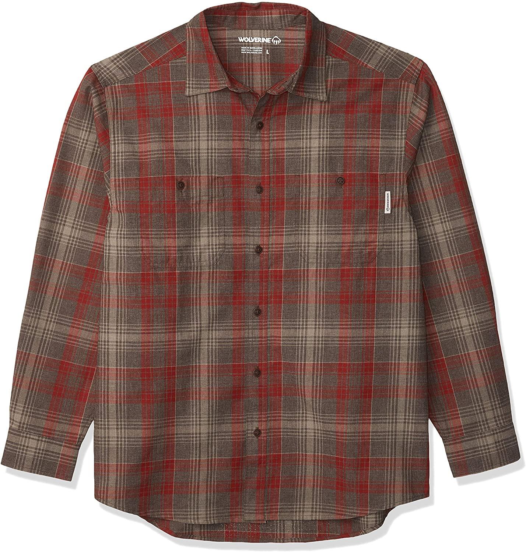 WOLVERINE Men's Plainwell Long Sleeve Shirt
