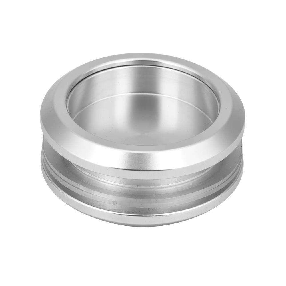 Glass Door Handle Aluminum Alloy Round Handle Durable Pull Bathroom Doorknob for Sliding Door Bathroom Kitchen Cabinet
