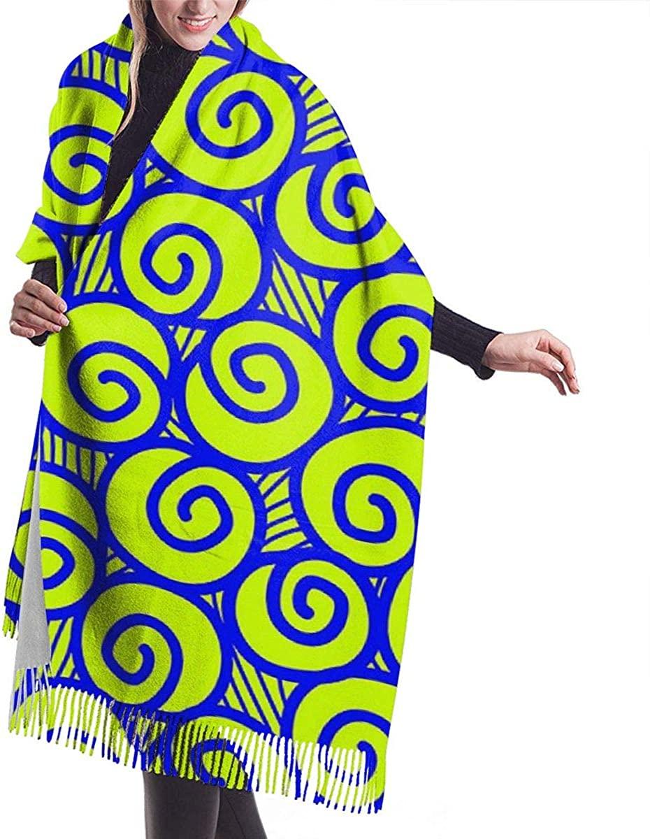 Green Snail Women's Winter Warm Scarf Fashion Long Large Soft Cashmere Shawl Wrap Scarves