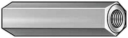 Hex Standoff, Alum, 4-40x1/4 L, PK10