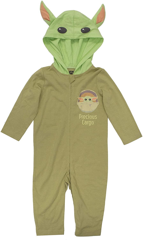 Star Wars Baby Yoda The Mandalorian Baby Boys Costume Coverall