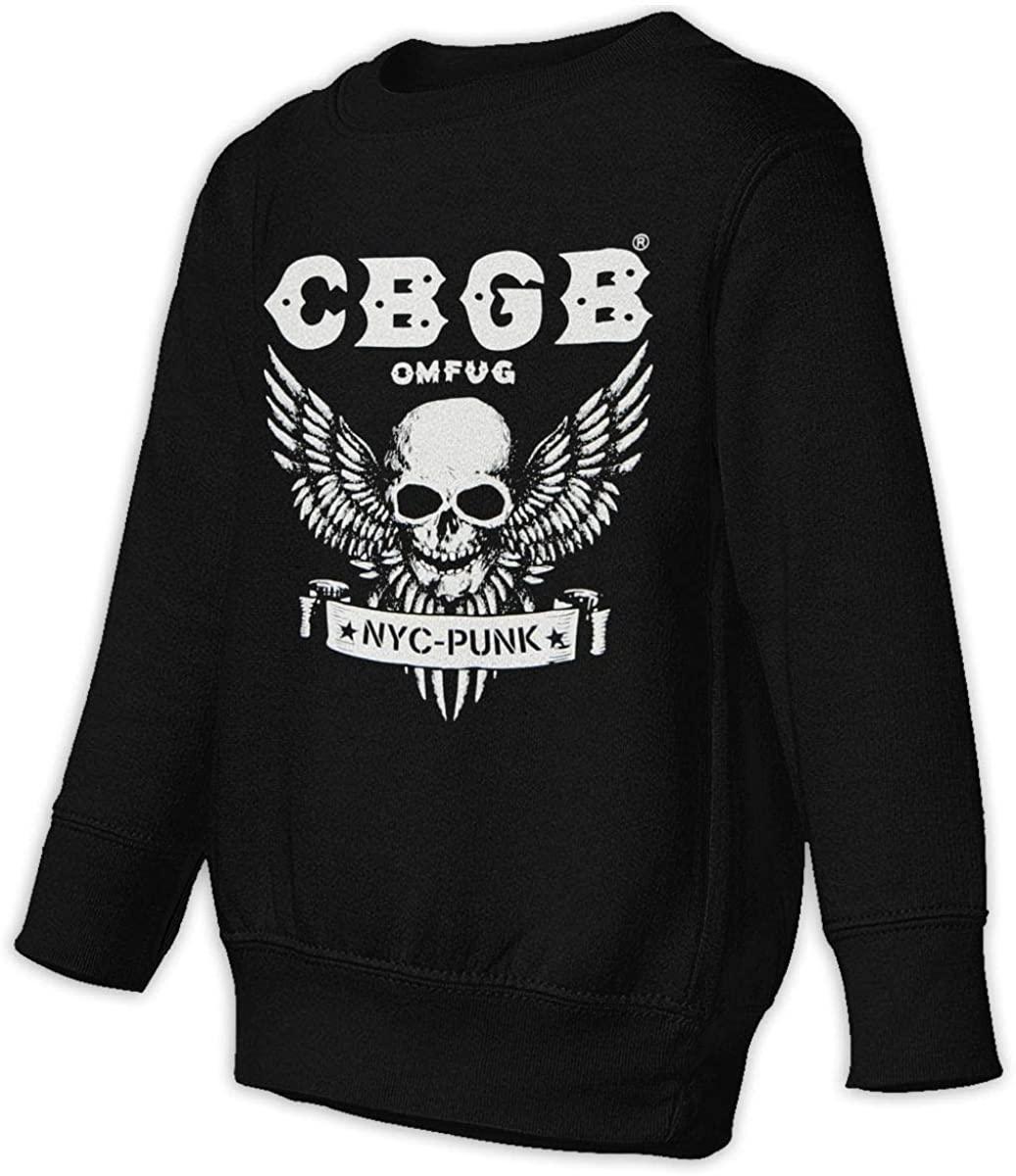 NOT CBGB Unisex Sweatshirt Youth Boy and Girls Pullover Sweatshirt