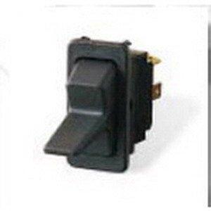 Eaton / Cutler Hammer 8004K23N1V1 Non-Illuminated Rocker Switch SPST 125 - 250 Volt AC 28 Volt DC 10/15 Amp Black