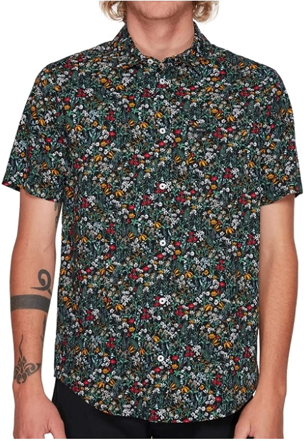 RVCA Costello Short Sleeve Shirt