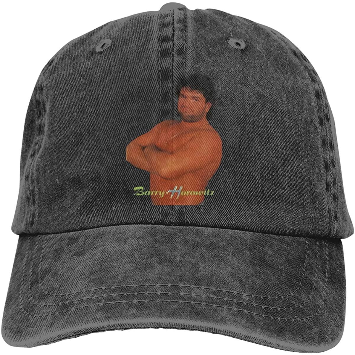 GOOANGUS Barry Horowitz Retro Wrestling Adjustable Unisex Hat Baseball Caps Black