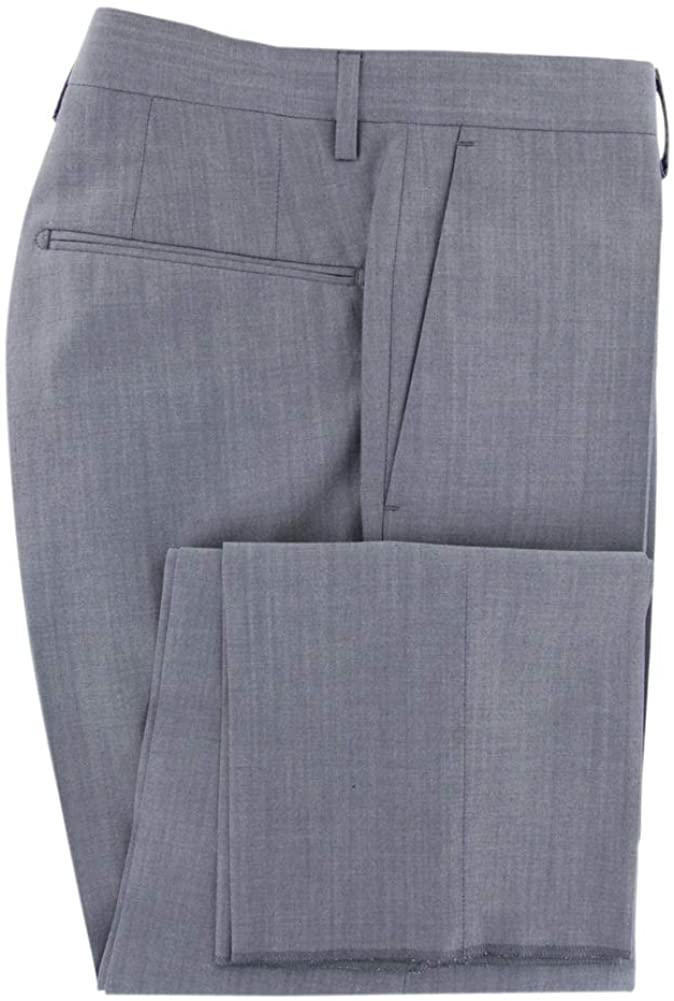 Incotex Gray Melange Wool Blend Pants - Slim
