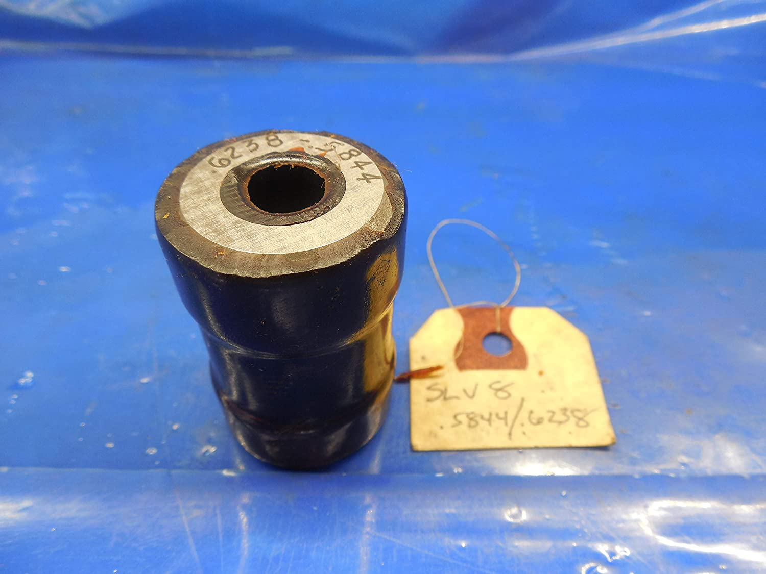 .6238 .5844 Smooth Stepped Plain BORE Ring GAGE .6250 .625 Undersize 5/8 15.845