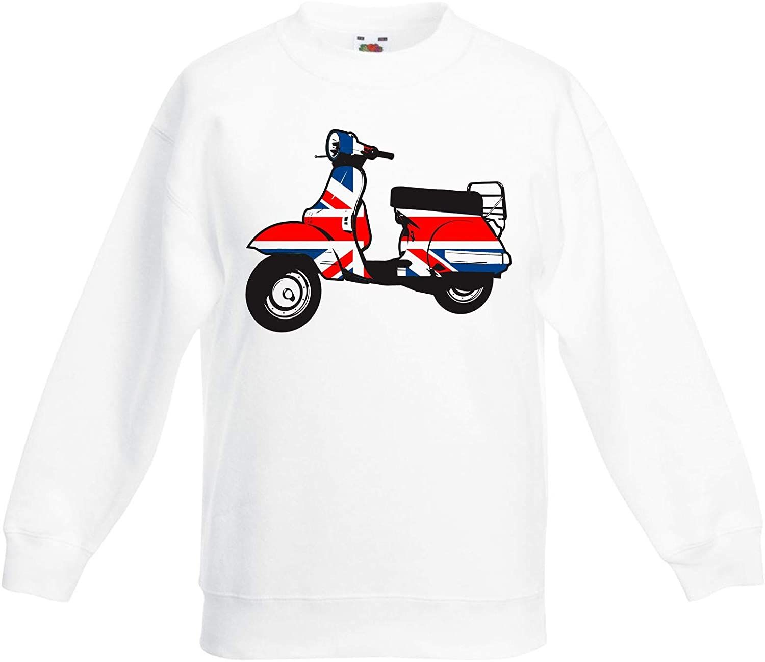 Mod Scooter Children's Toddler Kids Sweatshirt Jumper