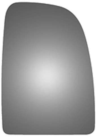 2014-2018 Passenger Right Side Replacement Mirror Glass With Backing Plate for Ram Promaster 1500 2500 3500 (2014 2015 2016 2017 2018) Upper Convex